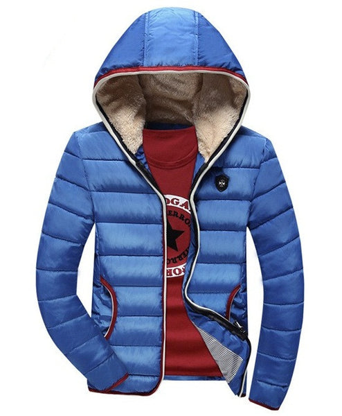 Warm Jacket available 4 colors dark blue/red/black/light blue