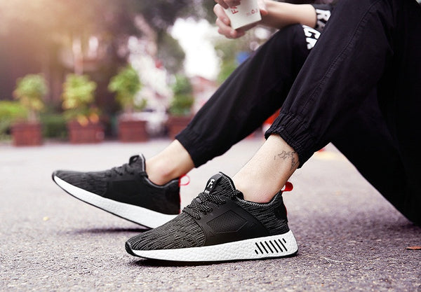 Men's Shoes Fashion casual breathable Mesh 3 colors