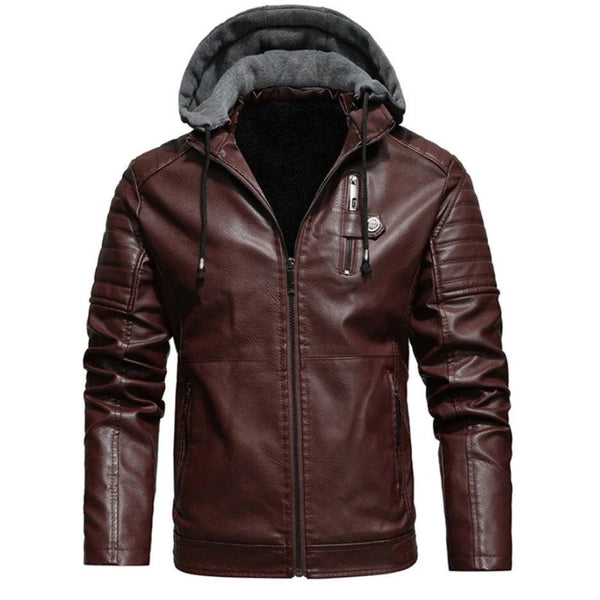 Luxe Hybrid Woollen Hooded Jacket 4 colors