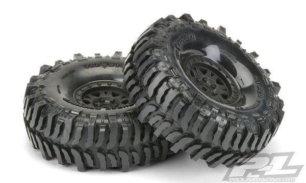 "Interco Bogger 1.9"" G8 Rock Terrain Tires Mounted"