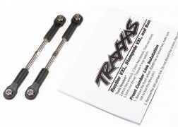Traxxas Turnbuckles, toe link, 55mm (75mm center to center) (2) (assembled with rod ends and hollow balls)