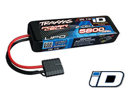 5800mAh 7.4v 2-Cell 25C LiPo Battery