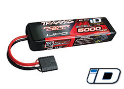 Traxxas 3 cell battery 5000mAh 11.1v 3-Cell 25C LiPo Battery
