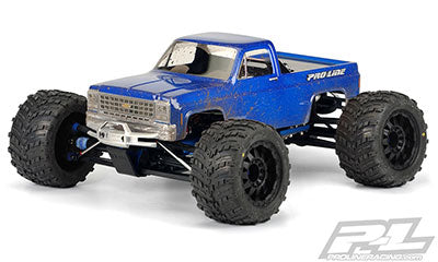 1980 Chevy Pick-up Clear Body