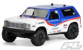 1981 Ford Bronco Clear Body