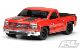 Chevy Silverado Pro-Touring Clear Body