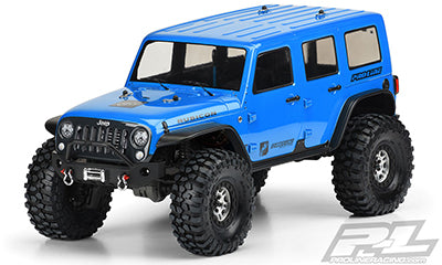 Jeep Wrangler Unlimited Rubicon Clear Body