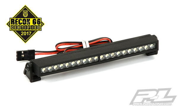 "4"" Super-Bright LED Light Bar Kit 6V-12V (Straight) for Rock Crawlers, Rock Racers, 1:8 Monster Trucks & 1:10 Monster Trucks"