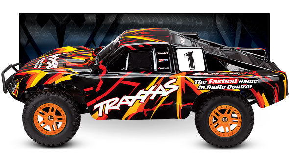 SLASH 4X4 1/10 Scale High-Performance 4X4 Short Course Truck With Titan 12T 550 and XL-5 ESC