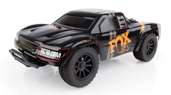 1/28 SC28 2WD SCT Brushed RTR, Fox Edition (ASC20154)