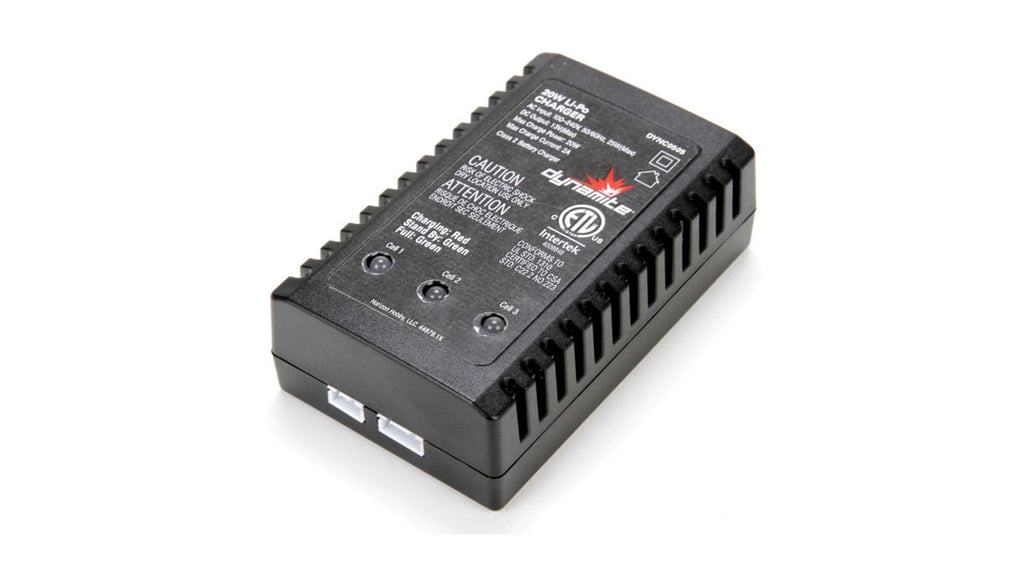 20W LiPo AC Battery Charger (DYNC0505)
