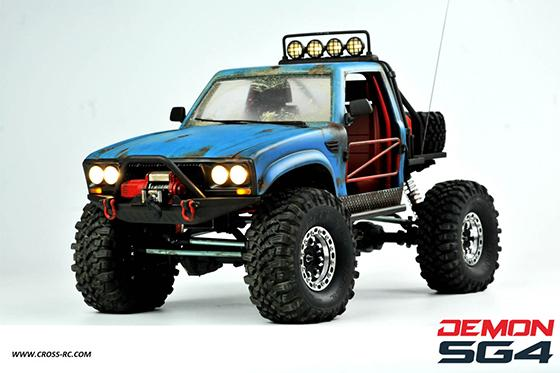 SG4C 4x4 DEMON Rock Crawler