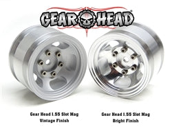 Gear Head RC 1.55 Slot Mag Wheels (4)