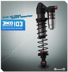 Gmade 103mm XD Piggyback Shock Set (2)