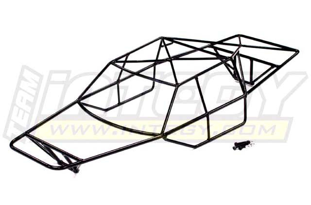 STEEL ROLL CAGE BODY FOR TRAXXAS 1/10 SLASH 4X4 NON-LCG