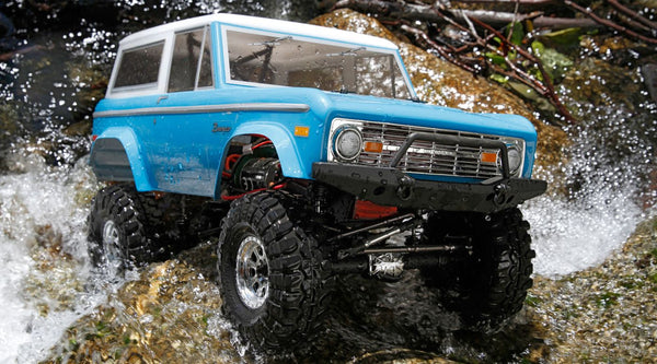 1/10 1972 Ford Bronco 4x4 Ascender Brushed RTR (VTR03031)