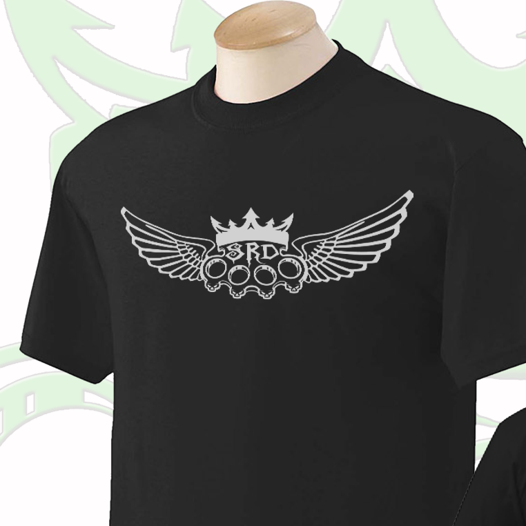 Sik Shirts - Winged knuckle design - short sleeve - T-shirt