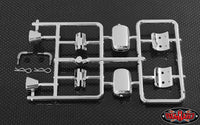 RC4WD CHEVROLET BLAZER CHROME MIRROR AND REAR TAILLIGHT PARTS ASSEMBLY
