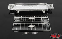 RC4WD CHEVROLET BLAZER CHROME FRONT GRILL W/OPTIONAL INSERTS