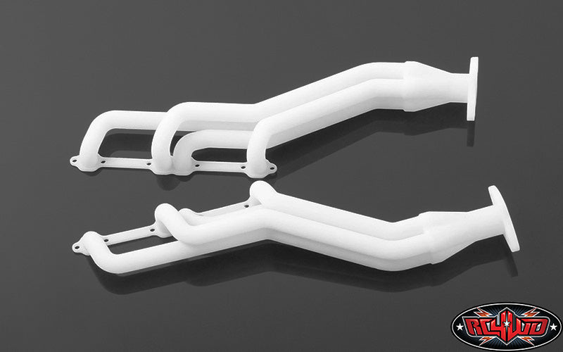 PLASTIC EXHAUST HEADERS FOR V8 MOTOR