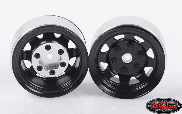 "STAMPED STEEL 1.55"" STOCK BLACK BEADLOCK WHEELS"