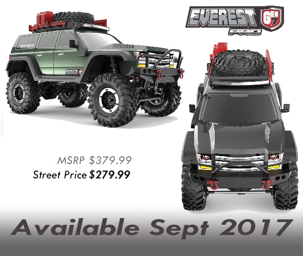Redcat EVEREST GEN7 PRO 1/10 SCALE red cat