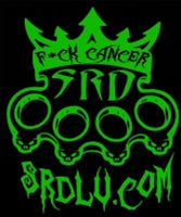 F*CK CANCER STICKER