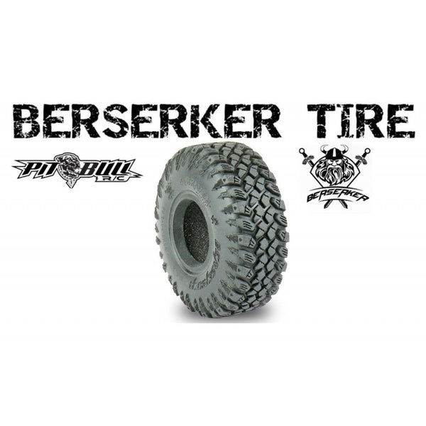 PITBULL BRAVEN BERSERKER 3.95X1.35-1.55 SCALE RC / ALIEN KOMPOUND / w/Foam 2 tires & 2Foams