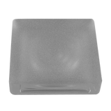 solid square glass paver