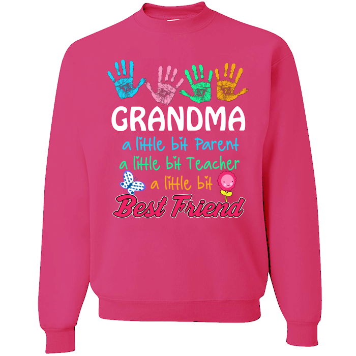 Grandma A Little Bit Parent Tshirt
