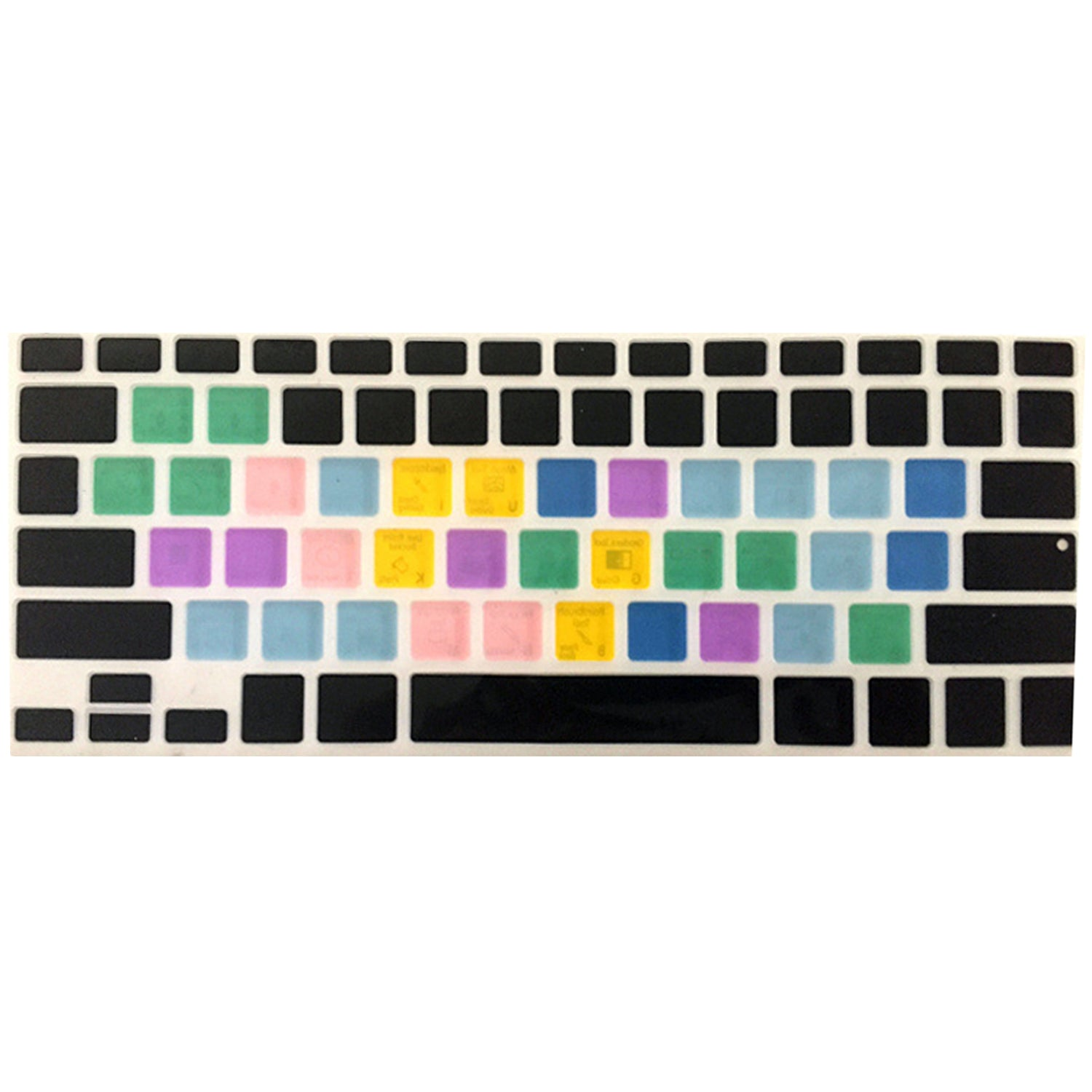 Adobe Photoshop Keyboard Shortcut Design Functional Silicone Cover For Macbook Pro Air 13 15 17 Protector Sticker PS Keyboard