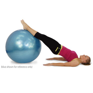 SWISS BALL YOGA HOME GYM EXERCISE BALANCE PILATES EQUIPMENT FITNESS BALL 75cm