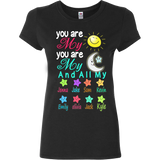 You Are My Sun,You Are My Moon T-shirt