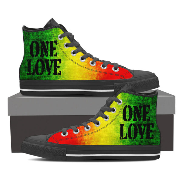 One Love High-Top Canvas Shoe for Men and Women