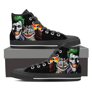 Joker High Top Canvas Shoe for Men's and Women's