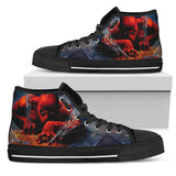 Amazing Spiderman High Top Canvas Shoe for Men's and Women's