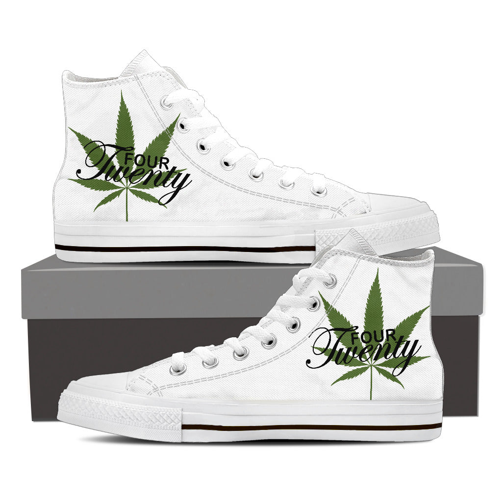 420 High Top Canvas Shoe For Men's And Women's