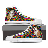 Bright Bull Dog Canvas Shoe For Men's And Women's