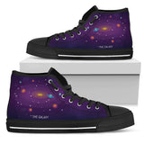 3D Galaxy Space High Top Canvas and Sneakers For Men's and Women's