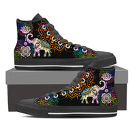 Chakra Elephant Men High Top Shoe For Men's & Women's