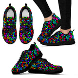 Colors Hearts Sneakers for Men's and Women's
