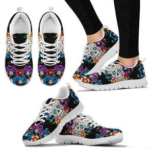 Day of the Dead Sneakers for Mens and Womens