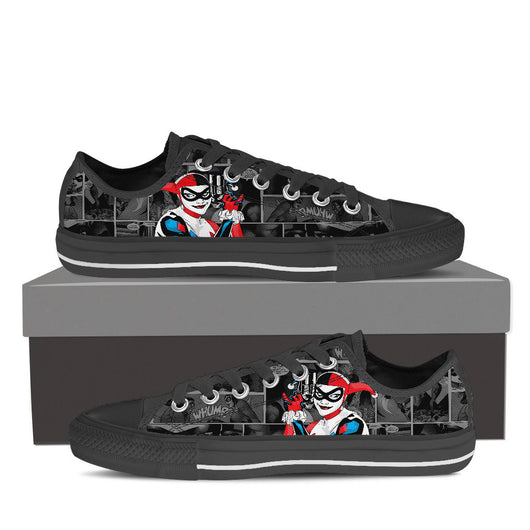 961f016131bf0d Harley Quinn Low Top Canvas Shoe Men s And Women s – OffersPlace