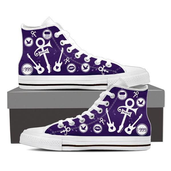 Prince High Top Canvas Shoe For Men's And Women's
