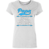 Papa The Man The Myth The Legend Tshirt