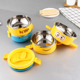 Cute Cartoon Lunch box For Kids With Plastic Tiffin Boxes
