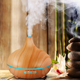 Free Essential 8 Oils Diffuser and Humidifier Spa Fragrance