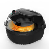 Large 10L Air Fryer With Food Rotation - Low Fat Healthy cooking 1300W