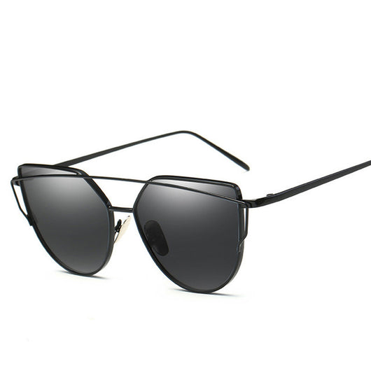 Fashion Brand Cat Eye Sun  Glasses For Women