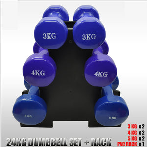 Set of 2 fitness dumbbells 1//2//3kg